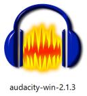 Audacity for Windows のインストーラファイル画像
