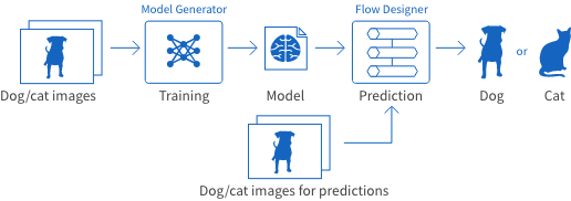 Overview of BLOCKS services for image classification