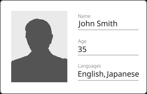 JSON とは何かのサンプルデータ