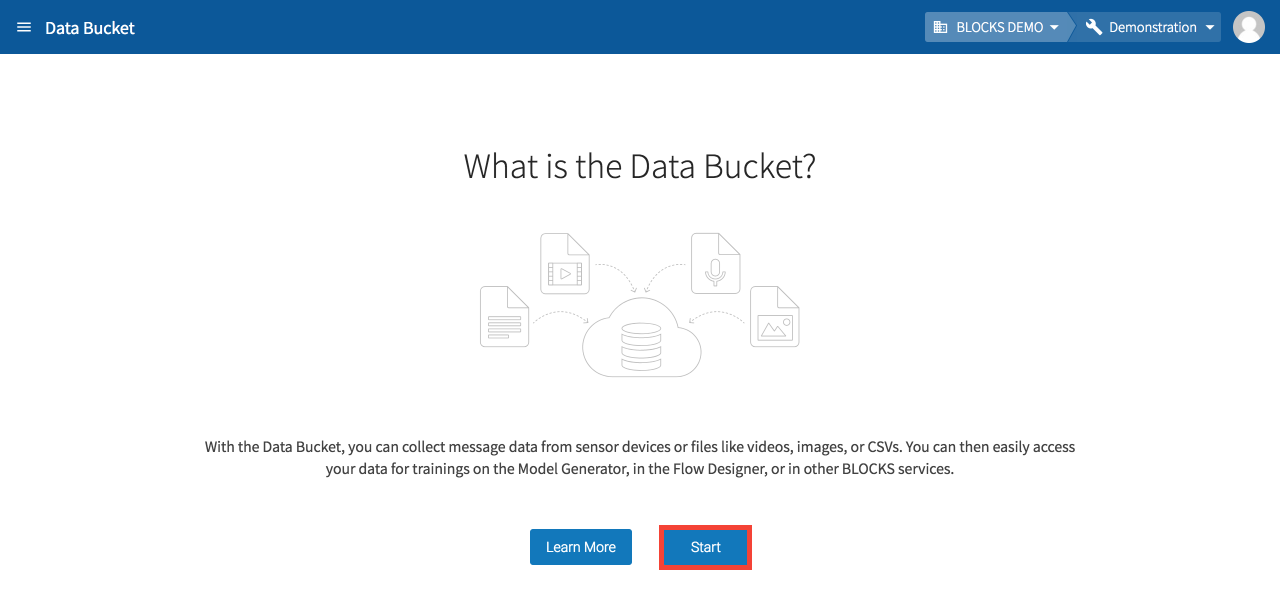 What is the Data Bucket?