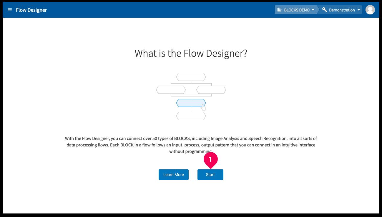 Creating a Flow Designer