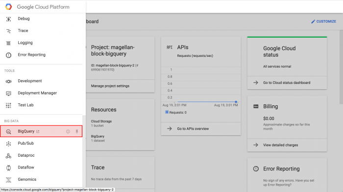Getting started with GCP #2: Using BigQuery | MAGELLAN BLOCKS